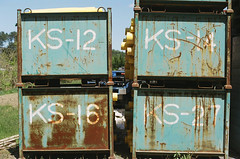 KS-12 -14 -16 -27 (SOVA5) Tags: film 50mm rust nikkor50mm14 nikonnewfm2 dnpcenturia200expired2010