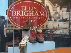 London Shop Window (teresue) Tags: uk greatbritain england london boots unitedkingdom shopwindow 2013 ellisbrigham