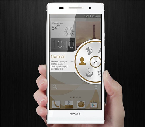 Amazing HUAWEI Ascend P6 At 6.18mm slim Android 4.2.2 Jelly Bean 4.7-inch 720p HD touchscreen 1.5GHz Quad-core CPU 2G RAM 8GB ROM 8.0-megapixel REAR CAMERA 5.0-megapixel FRONT CAMERA smartphone