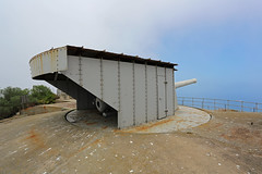 9.2 inch Mark X Coastal Defence Gun, Breakneck Battery, Upper Rock, Gibraltar (Mosh70) Tags: gun artillery gibraltar rockofgibraltar highestpoint markx 92inchcoastaldefencegun breakneckbattery 92inchmarkxcoastaldefencegun markvgunmount markvgunmounting