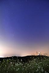 Milky way at Berlin City (Mr.Dinkelman) Tags: sky berlin germany eos star cano tokina nightsky stern f28 grunewald atx milkyway teufelsberg sternenhimmel 1116 600d uww abhrstation drachenberg atx116 milchstrase rebelt3i