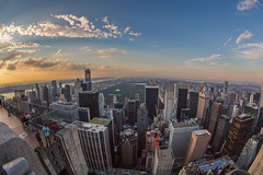 As Far As The Eye Can See (Strykapose) Tags: nyc newyorkcity sunset newyork rooftop clouds newjersey crane centralpark bronx harlem manhattan horizon rockefellercenter tourist fisheye queens eastriver upperwestside manhattanskyline lic hudsonriver trumptower keyspan birdseyeview greatlawn topoftherock uppereastside georgewashingtonbridge touristspot observationdeck sheepmeadow bloombergtower gebuilding sonybuilding concretejungle timewarnerbuilding gmbuilding hearsttower solowbuilding centralparknorth attbuilding newyorkcitylandmarks naturalhdr fortleenj jackiekennedyonassisreservoir cityspirecenter rowboatlake pallisadesnj canon5d3 strykapose ef815mmf4lfisheyeusm one57