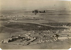 Mosul Aerodrome in Iraq during WWI (Anne D Walter) Tags: vintage aircraft iraq british ww1 mesopotamia mosul biplane aerodrome