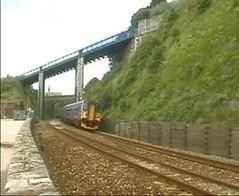 Dawlish line (yorkiebrian) Tags: railway teignmouth dawlish