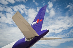 FedEx A300 (Max Klingensmith) Tags: airplane aircraft aviation tail airbus fedex oshkosh a300 federalexpress tailplane airbusa300 bigplane mklingo maxklingensmith megaplane osh13