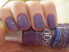 Topázio Púrpura - Risqué + Bolinhas (marianamrr) Tags: bolinhas unhas risque fosco esmalte topáziopúrpura nailpolishland