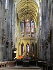 IMG_2379 (andrew_leon) Tags: summer church europe prague cathedral stainedglass tschechien stvitus    2013