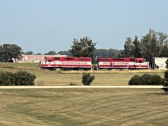 WSOR L595 (8/20/13) (SW Rail Photos) Tags: oshkosh emd gp382 gp38 wsor wisconsinsouthern wisconsinandsouthern l595 oshkoshsub