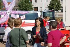 Infostand in Lohburg