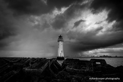 Perch Rock Lighthouse (*Richard Cooper *) Tags: new lighthouse rock brighton perch