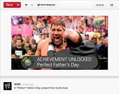 WWE Official Pinterest page posts a Heelbook meme