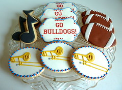 Special Cookies for the Trombone Section at Fresno State!