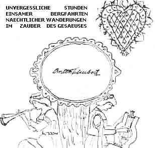 19860000 Steiermark EMyB Zeichnung Anton Schubert Gedenken Odstein Gesäuse