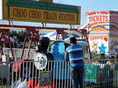 Choo Choo Train Station (trumpeterny) Tags: county carnival festival train amusement fairgrounds ride thomas fair rides wade amusements lumberton robeson robesoncounty lumbertonnc wadeshows robesoncountyfair robesonregionalfair