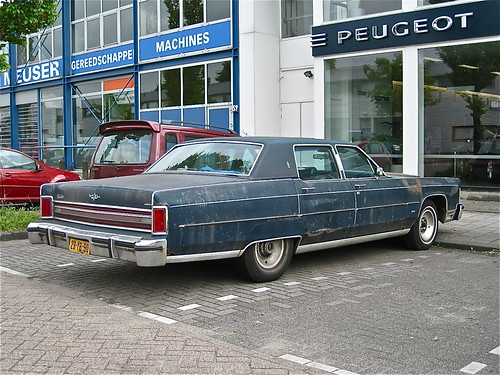 1977 LINCOLN Continental Town Car - a photo on Flickriver