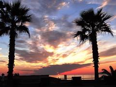 Non c' nessun regalo pi bello.. (anton) Tags: sardegna tramonto nuvole mare natura fourseasons cielo sole dedica compleanno palme regalo alghero riflesso emozioni wonderfulworld anton takenwithlove