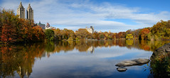 Lake Panorama II (Joe Josephs: 3,166,284 views - thank you) Tags: autumn newyork fall landscape centralpark fallfoliage landscapephotography urbanparks nikon2485 nikond800e copyrightjoejosephsphotography copyrightjoejosephs2013