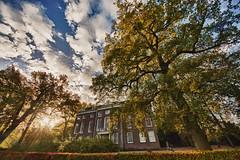 Huis ten Donk in HDR (mjlaarman) Tags: autumn netherlands herfst hdr ridderkerk