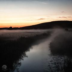 Predawn (warmianaturalnie) Tags: mist nature water fog river landscape poland predawn warmia kiermas sapuny