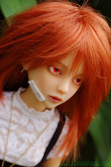 Tousled (Sephora-Chan) Tags: classic corinne ball french toy ginger doll mini korean suntan bjd resin dollfie tanning abjd articulated msd jointed narin narae bimong dollfair narindoll