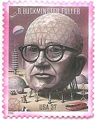 USA Stamp commemorating R. Buckminster Fuller (sftrajan) Tags: usa building stamp timbre unitarian commemorative postagestamp geodesicdome philately rbuckminsterfuller sello briefmarke  francobollo  presidentialmedaloffreedom