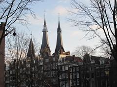 Amsterdam torens Posthoorn kerk (Arthur-A) Tags: tower church netherlands amsterdam catholic toren nederland kirche turm kerk eglise posthoorn