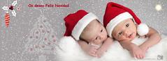 Feliz Navidad !! (Guillermo Rando ) Tags: navidad nubes postal santander fotgrafo feliznavidad torrelavega bebs papanoel navidea felicesfiestas 2013 reciennacidos papanoeles minipanoel