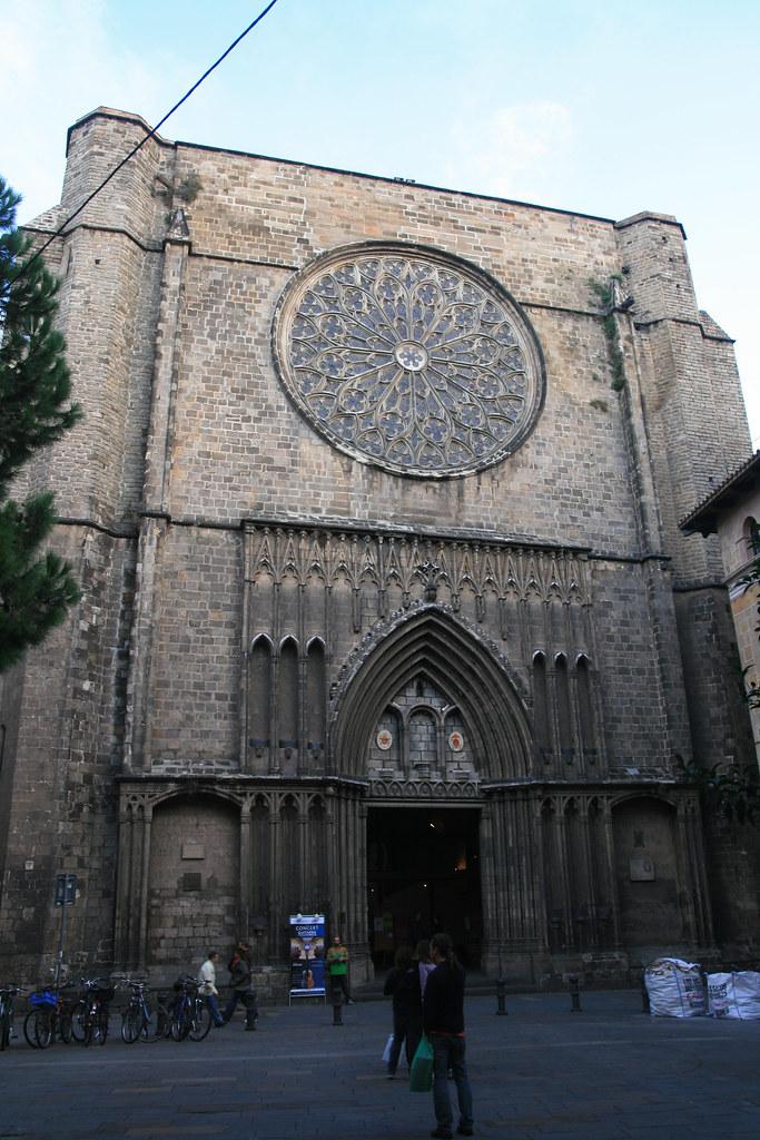 Eglise du Barrio Gotico
