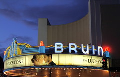 Entertainment, The Lucky One at the Regency Bruin Theatre, Marquee