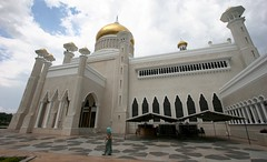 IMG_5038.JPG (marcwiz2012) Tags: architecture gold golden asia minaret mosque cupola brunei islamic omaralisaifuddien