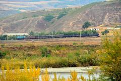 Trains of DPRK North korea () Tags: train tren nikon railway zug korea fx treno northkorea ferrocarril ferrovia dprk  d600