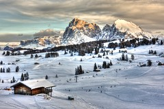 Winter on Seiser Alm (HDR) (Thumbnail)