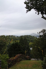 Tappan Zee from Afar (EmmaRoganPhotography) Tags: bridge trees mountains fall nature grass landscape view tappanzee sleepyhollow