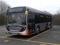 20140217_160341 Alexander Dennis, Falkirk SN62 DNJ (Skillsbus) Tags: buses sheffield alexander dennis hybrid coaches stagecoach