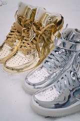 Nike Lunar Force 1 Liquid Metal Pack (Elisha Johnthunder) Tags: max feet metal silver gold 1 nikon force metallic air nike pack sneaker liquid lunar niketalk sneakerhead solecollector d3200 wdywt sadp womft