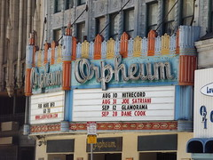 Orpheum up and running, Down Town L. A. (ATOMIC Hot Links) Tags: california music art cali la smog losangeles downtown chinatown cops cityhall 110 driveby malibu 405 socal 18thstreet hollywood beverlyhills venicebeach westside plays watts lax picounion fairfax unionstation earthquakes lowrider gangs littletokyo freeways westla koreatown performances waltdisneyconcerthall dragnet tinseltown skidrow lapd thejungle musiccenter crenshaw opra randysdonuts eastla ghettobird the10 hoggs okiedog 1adam12 olveriastreet rolling60s soulrydah losangeleschamberorchestra theshaw woddysbarbq socalculture dorothychandlierpavillion tommyhamburgers brotherhoodofstreetracers rampartdiv 77thdiv wilshirediv hollenbeckdiv shakytown cruznites elreytacos hoggsup