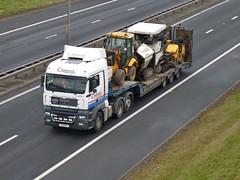 L15 CPT (Cammies Transport Photography) Tags: man truck edinburgh lorry newbridge flyover m9 crummock tgx l15cpt
