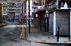 Grey Area (Dimmilan) Tags: street uk england urban building london shop architecture cityscape advert bollard oldarchitecture slicesoftime galleryoffantasticshots