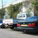 BMW 520i (E34), 1994 Toyota Land Cruiser pick-up 4.2 D & 1997 MG MGF 1.8i
