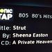 Sheena Easton Sonic Tap Screen Pic