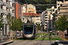 Alstom Citadis 302 #17 ST2N Nice Nicea (3x105Na) Tags: france nice tram 17 alstom t1 302 strassenbahn vauban tramwaj francja nicea citadis st2n
