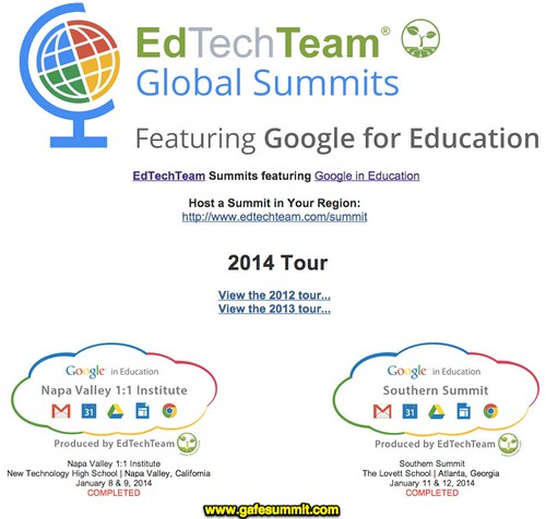 EdTechTeam Global Summits featuring Goog by Wesley Fryer, on Flickr