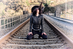 STOP! (Isidr Cea) Tags: railroad train tren wwwisidroceacom adrianacrestar