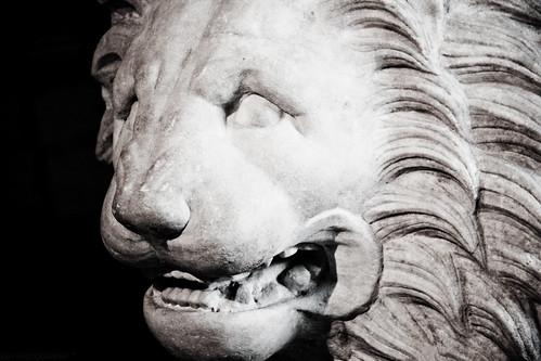 Lion Louvre - Paris, France