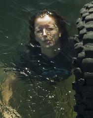 BREATHE- 2 (Nerak Simpson) Tags: water swim hope sink karen nsw aus drowning surviving ettalong headabovewater selfportraitassignment