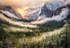 A clearing winter storm  photo by William Toti captures the famous Tunnel  View of Yosemite National Park in the morning