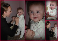 145/365 Having Fun with Mummy (lindyloo86) Tags: baby girl smile amber jane daughter samsung cheeky granddaughter