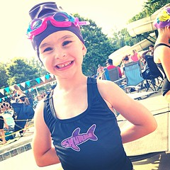 Swimming with the Sharks (crashmattb) Tags: pool girl georgia daughter may swimmer swimmeet abs vinings 2014 iphone5 iphoneography abigailjaclyn