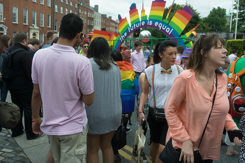 DUBLIN 2015 LGBTQ PRIDE PARADE [WERE YOU THERE] REF-105965