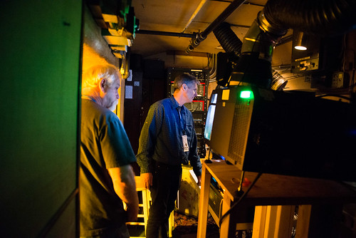 Mountainfilm Projection Booth